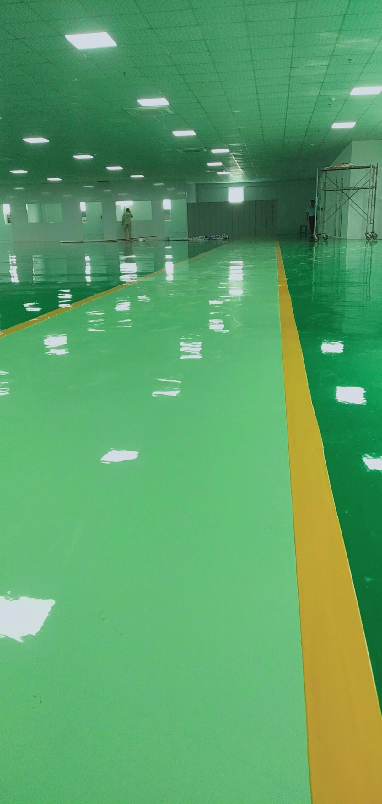có nên sơn epoxy cho nền sàn nhà xưởng nhà máy